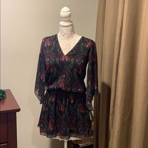 Alice + Olivia Lyla Blouson Dress size 2